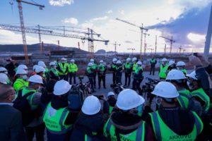 تركيا: إنتاج الكهرباء من المحطة النووية يبدأ في عام 2023